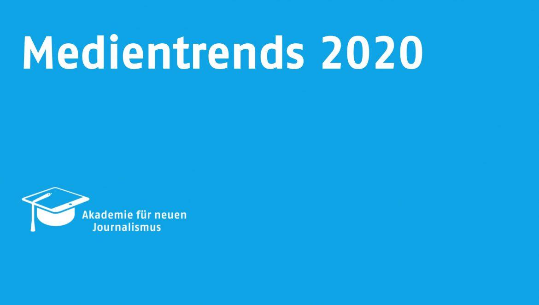 Medientrends 2020